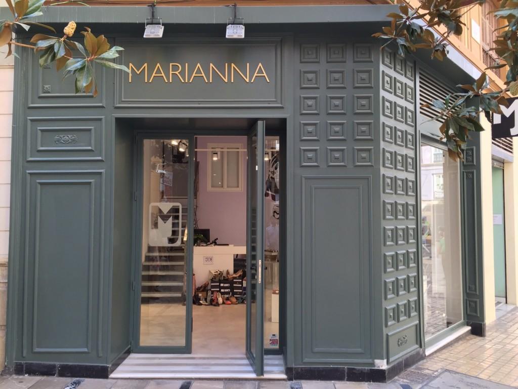 Decoración de locales comerciales Málaga Fachada