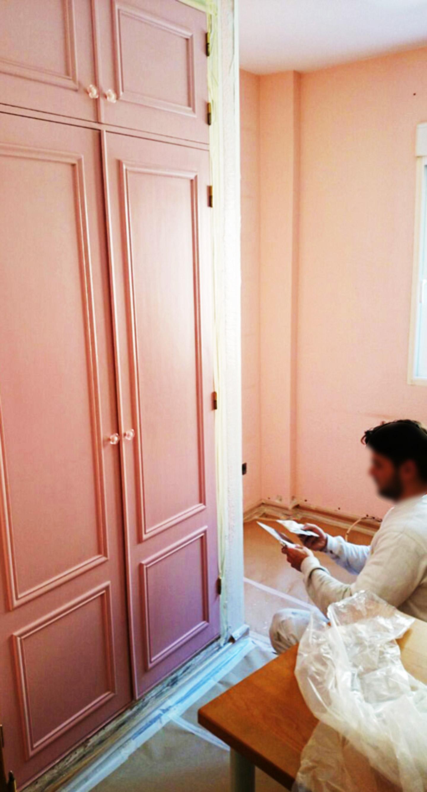 Lacados y barnizados de muebles m laga colors - Pintura para lacar muebles ...