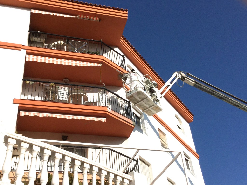 rehabilitacion pintura de exteriores