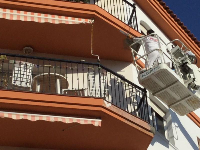 Rehabilitacion de fachadas Malaga Colors 1