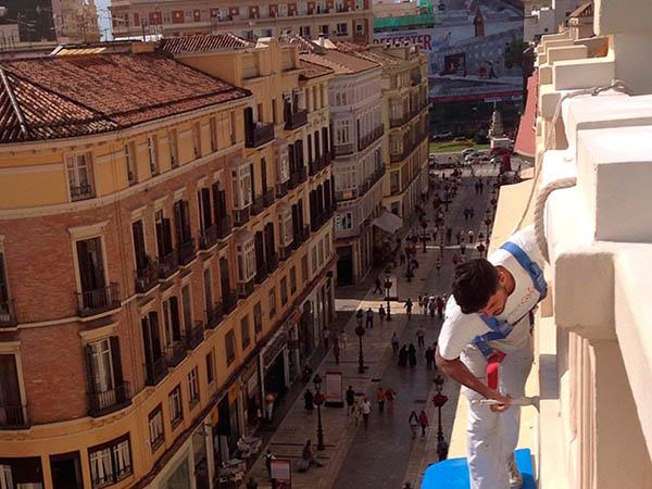 Málaga Colors, Rehabilitacion de fachadas en Málaga